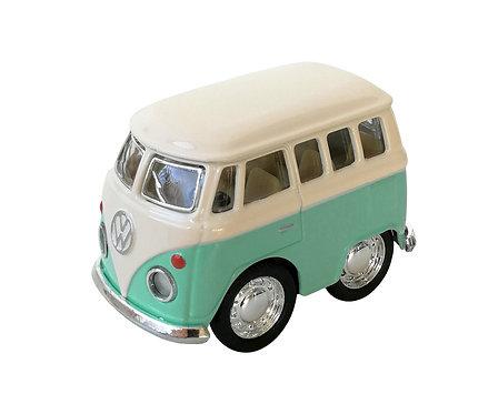 Mini Furgoneta Volkswagen Lisa Menta - Beetle Classical