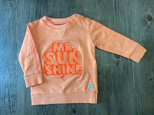 Sudadera Mr. Sunshine Naranja - 9 meses - FEETJE