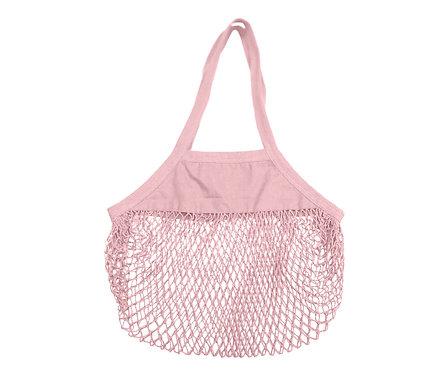 Bolsa Malla Orgánica Shopper Blush