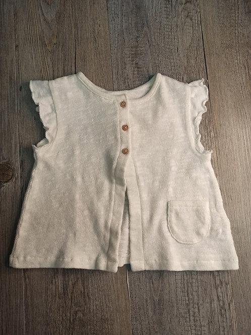 Camiseta Blanco Roto con Bolsillo - PLAY UP