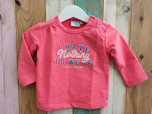 Camiseta Rosa I Have Nothing To Wear - 6 meses - FEETJE