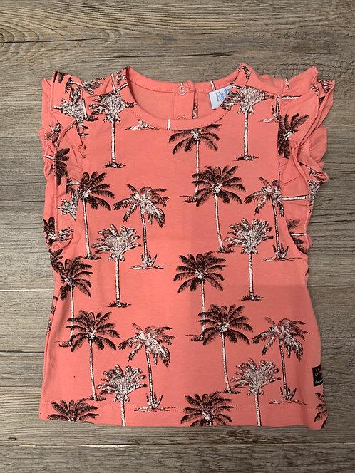 Camiseta Rosa Palmeras  - FEETJE