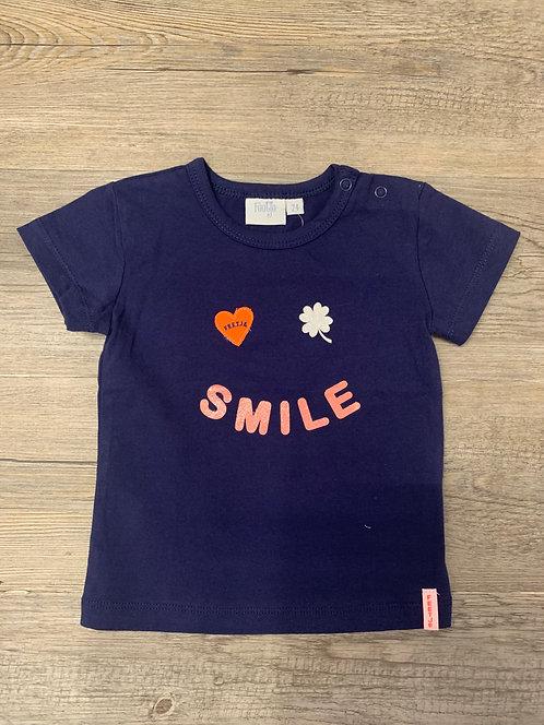 Camiseta Smile Azul Marino - FEETJE