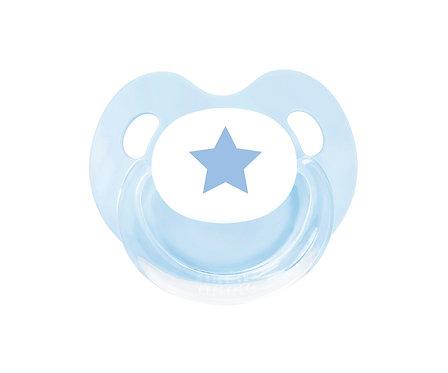 Chupete Retro Estrella Azul