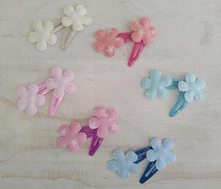 Clip Flor Pastel