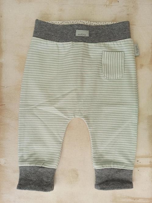 Pantalón Newborn Rayas Mint - 0 meses - FEETJE
