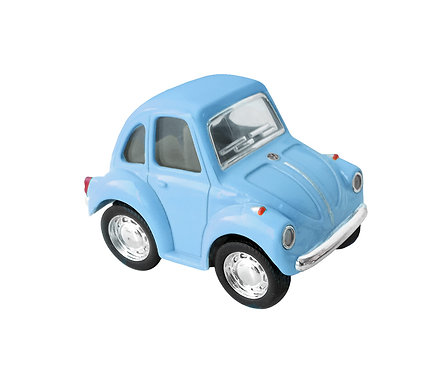 "Mini Coche Juguete ""Little Beetle"" Classical Azul"