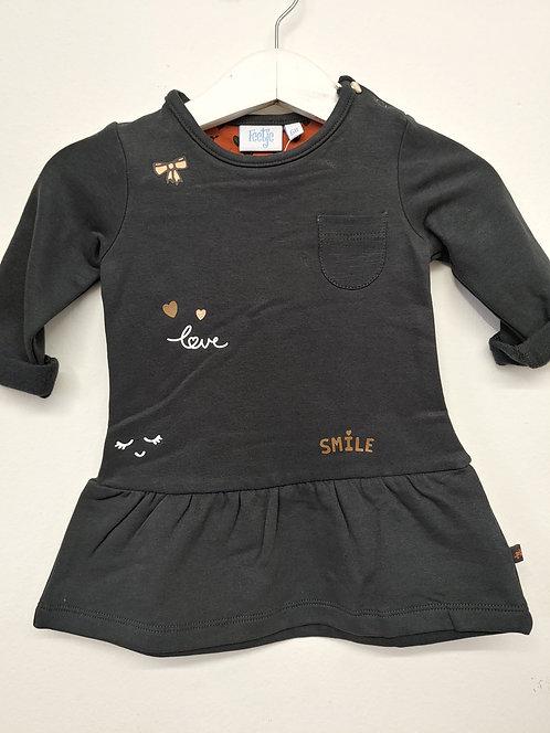 Vestido Negro Love Smile - FEETJE