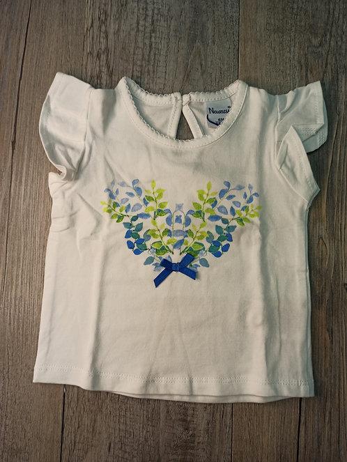 Camiseta Corazón Lazito Azul - NS BABY