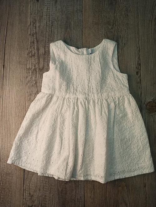 Vestido White Flores Bordadas - FEETJE