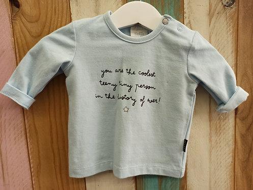 Camiseta You Are The Coolest ... Azul - FEETJE