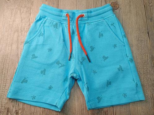 Pantalón Corto Azul Vespas - UBS2