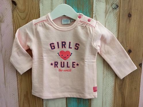 Sudadera Girls Rule - 6 meses - FEETJE
