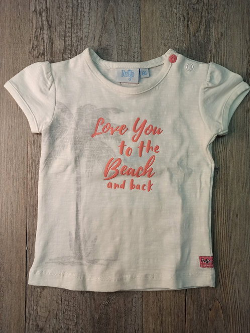 Camiseta Love You To The Beach And Back - FEETJE