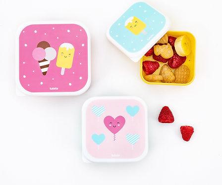 3 Cajas Almuerzo Sugary