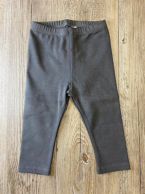 Pantalón Gris Antracita Liso - 9 meses - PLAY UP