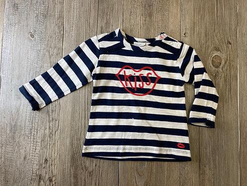 Camiseta Rayas Kiss - 9 meses - FEETJE