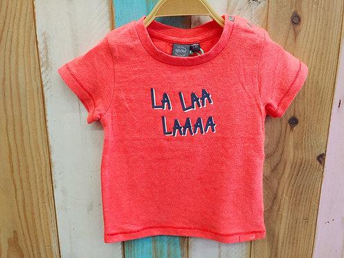 Camiseta La Laa Laaaa Flúor - BABY FACE