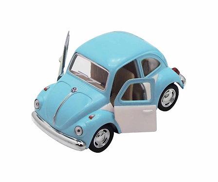 Coche Juguete Beetle Classical Azul/Gris - TUTETE