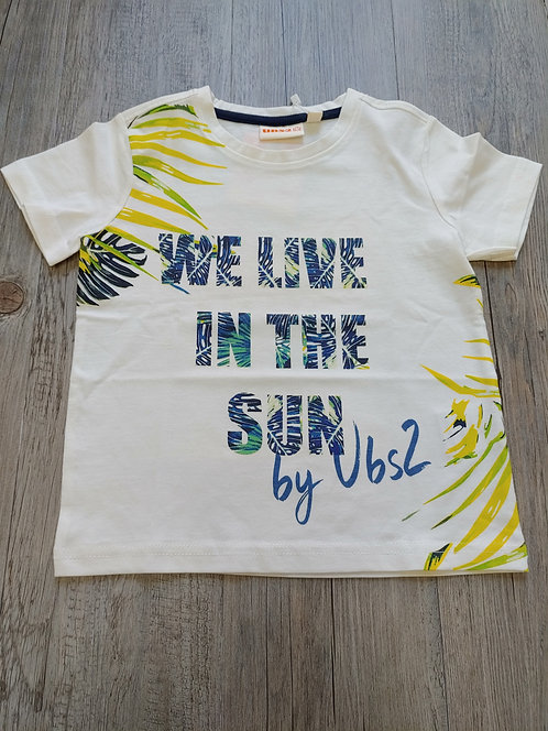 Camiseta We Live In The Sun - UBS2
