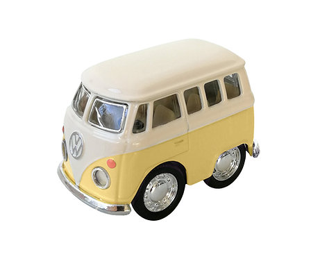 Mini Furgoneta Volkswagen Lisa Amarilla - Beetle Classical