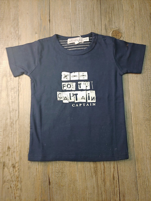 Camiseta Azul For The Captain - KRATERS