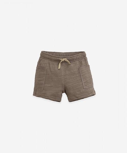 Pantalón corto de algodón orgánico | Botany - PLAY UP