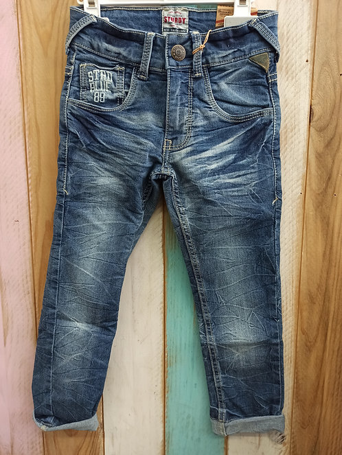 Pantalón Tejano STRD Blue 89 - 4 años - STURDY