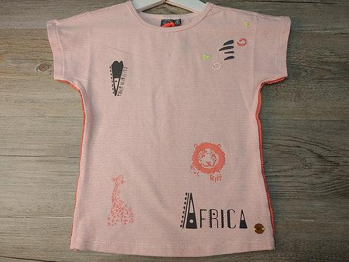 Camiseta Rayas Rojas África - BABY FACE