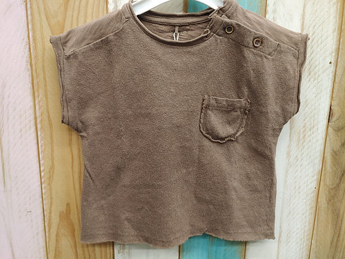 Camiseta Marrón Lisa - PLAY UP