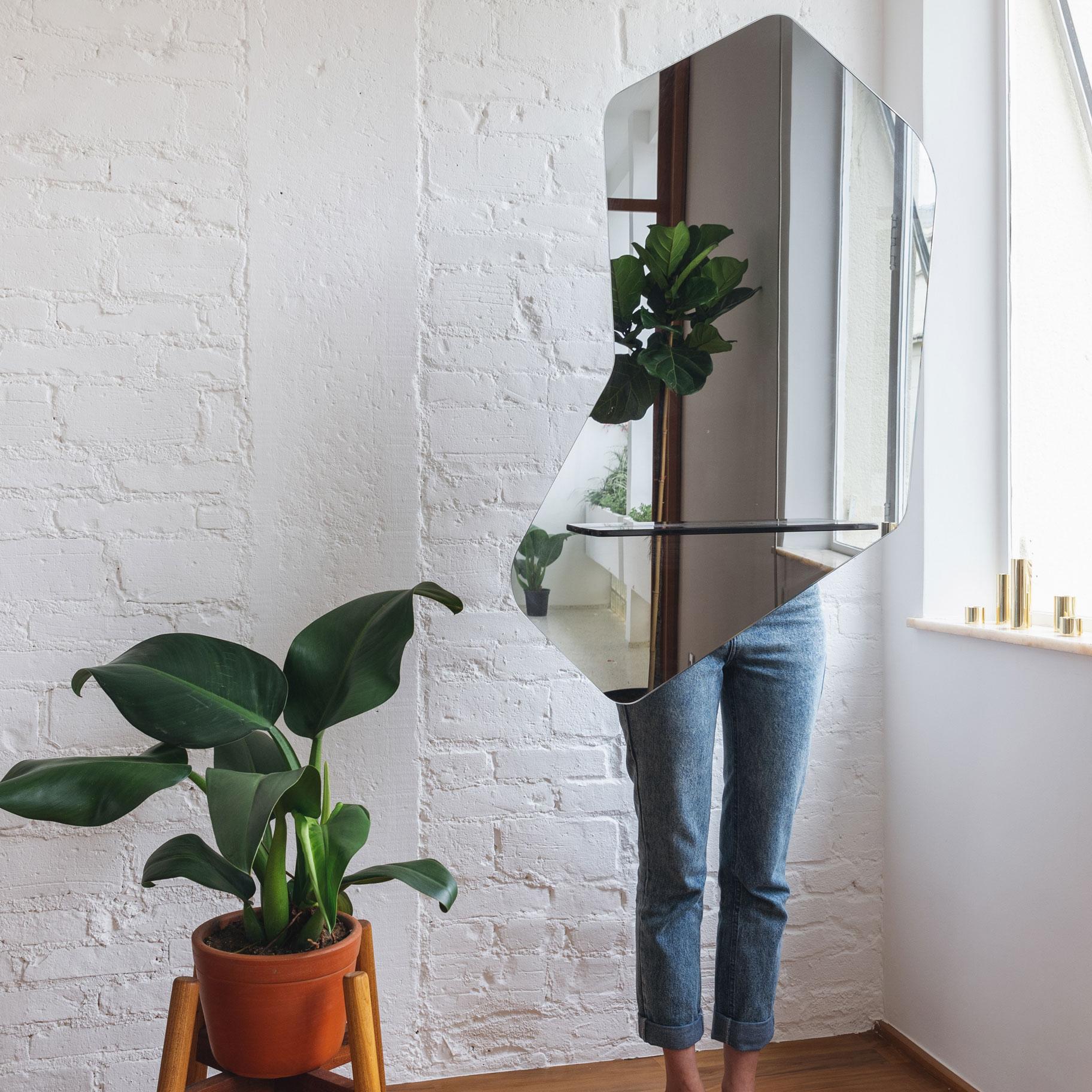 Espelho Moderno Fumê