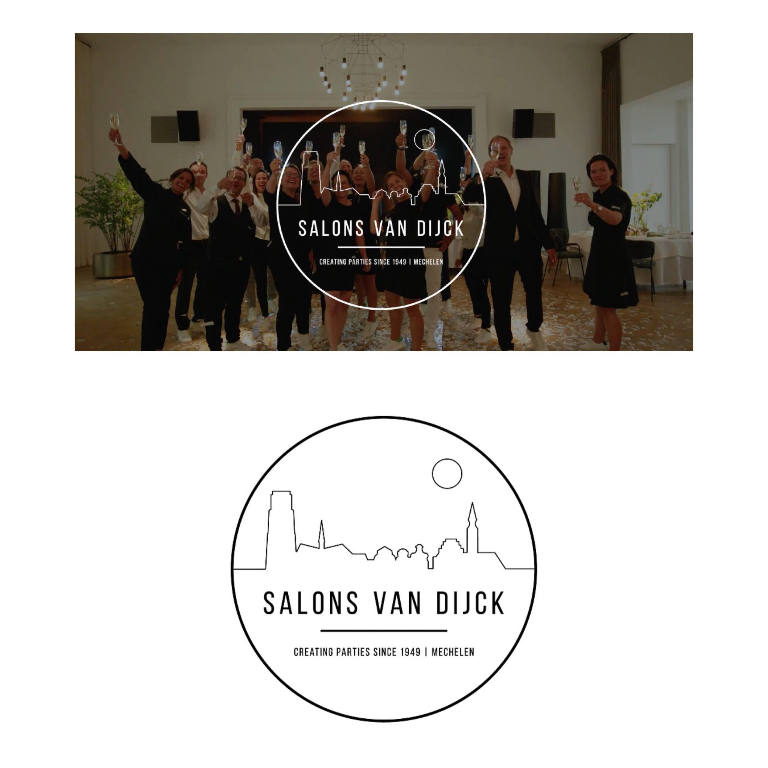 Huisstijl Salons Van Dijck