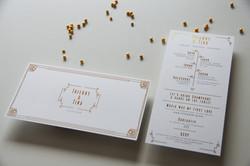 Huwelijksuitnodiging T & T