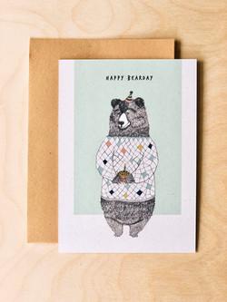 Happy bearday _ verjaardagskaart