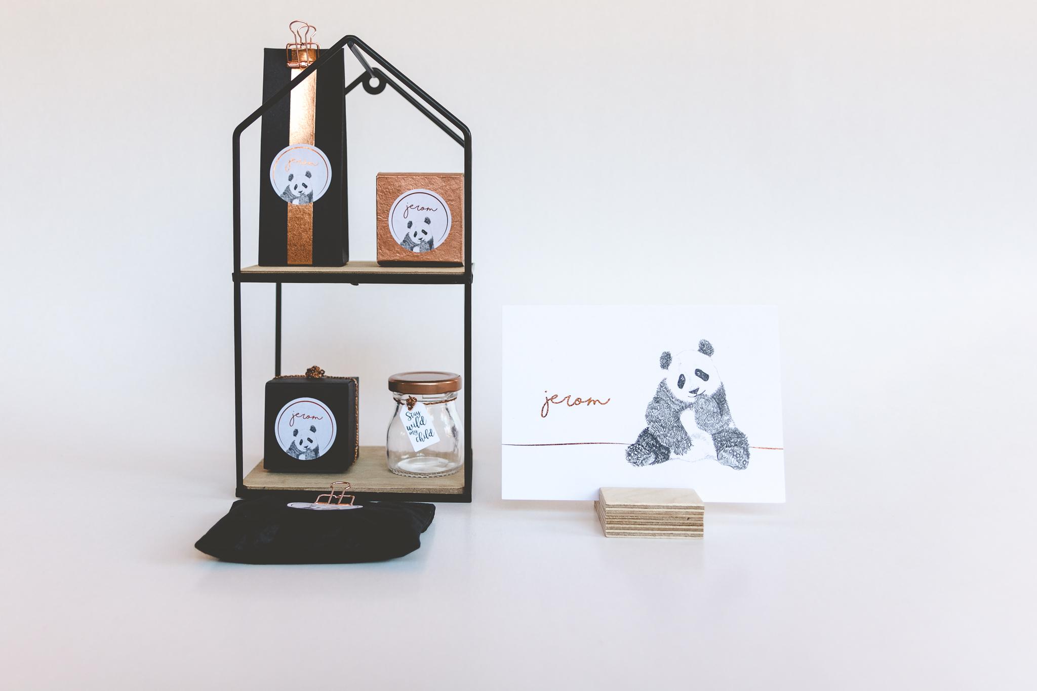 Doopsuiker JEROM panda