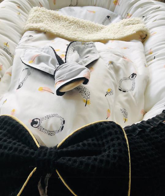Pinguin babynestje