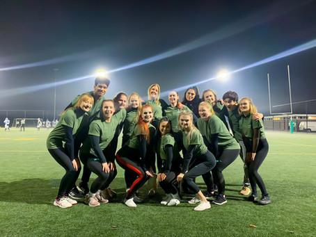 Groningen Giants Cheerleaders First Performance