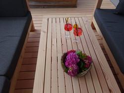 Gartenmöbel aus Douglasie