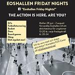 Eoshallen Friday Nights poster.png