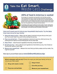 Challenge Pledge Form and Waste Measurement Guide