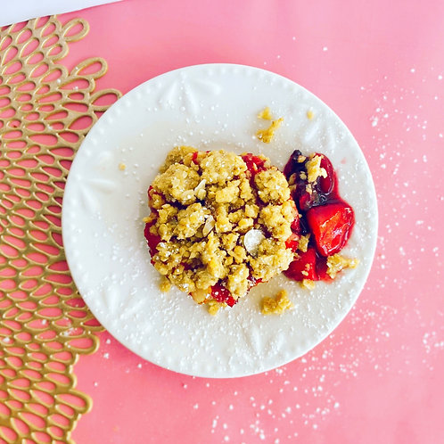 Wild Berry Oat Crumble Cups