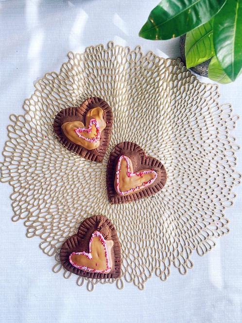 Triple Chocolate Pophearts