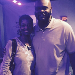 Facebook - The Big Homie, former Bengal, Vaughn Booker and his fiancé...THIS IS
