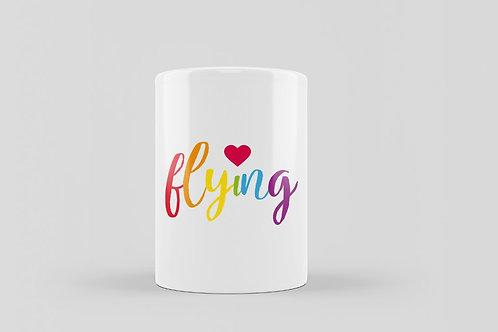 "Queer Coffee Cup ""Flying"""