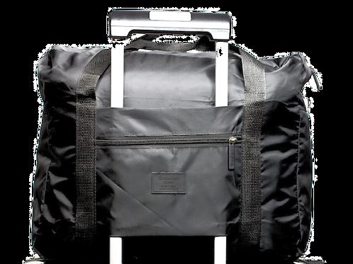 Reisetasche mit optimierter Trolleyhalterung