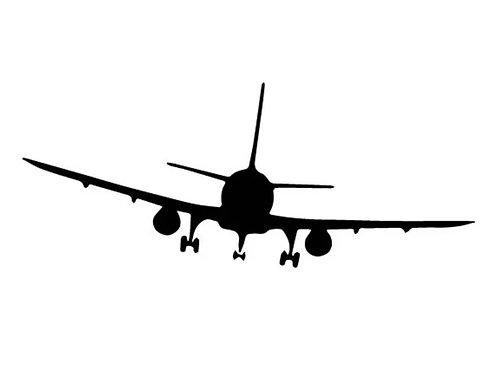 Aufkleber Flugzeug