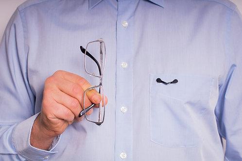 Brillenhalterung (magnetisch)