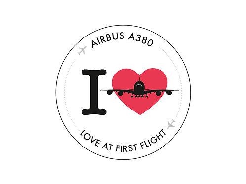 Aufkleber Airbus A380