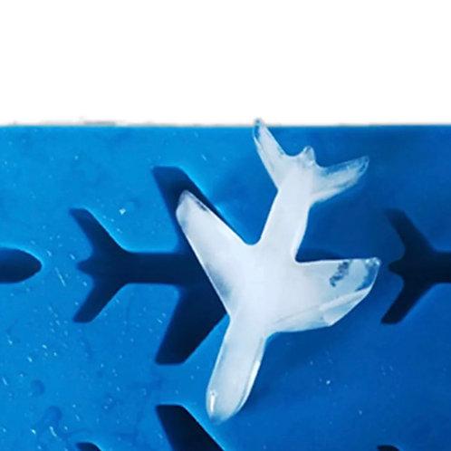 Eiswürfel Flugzeug