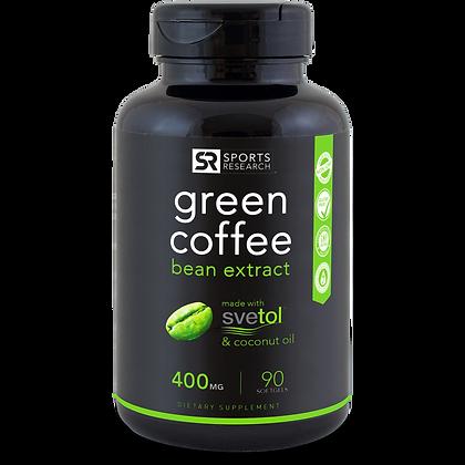 Extrait de grain de café vert (400mg)